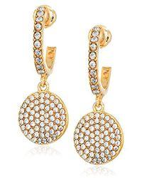 """Kate Spade - """"pave Drop Earrings"""" Shine On Drop Earrings Drop Earrings - Lyst"""