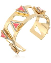 "Juicy Couture - ""deco'd Out"" Open Spike Cuff - Lyst"