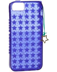 Juicy Couture - Starburst Jelly Star Charm Ytrut478 Iphone 5 Case,purple,one Size - Lyst