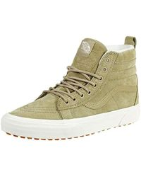 047162cc660635 Vans Sk8-hi Classic Unisex-adults Hi Top Lace-up Sneaker for Men - Lyst