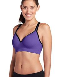6e7a18f91d Jockey - Activewear Molded Cup Seamless Sports Bra - Lyst