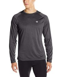 Champion - Double Dry Run Long-sleeve T-shirt - Lyst