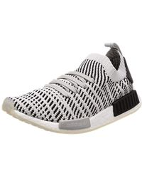 812236d5bbfae adidas Nmd R1 Stlt Primeknit Sneakers in Green for Men - Lyst
