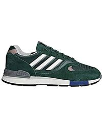 Quesence Fitness Shoes Green