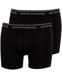 Scotch & Soda - Boxer Briefs (pack Of 2) - Lyst