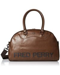 Fred Perry - Classic Tan Grip Bag - Lyst