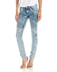 G-Star RAW - 5620 Custom Mid Rise Skinny Fit Jean In Tobin Superstretch Light Aged - Lyst