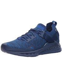 32fadf244c4 PUMA - Ignite Evoknit Lo Hypernature Sneaker - Lyst