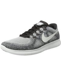 01122b8d9874d Nike Free Rn 2018 Running Shoes in Gray for Men - Lyst