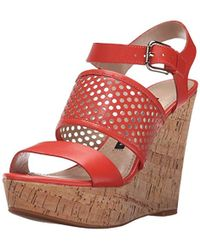 French Connection - Devi Wedge Sandal - Lyst