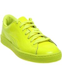 3310333863e8f6 Lyst - PUMA Basket Classic Patent Emboss for Men