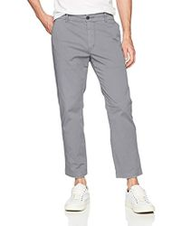Hudson Jeans - Clint Cropped Chino Pant - Lyst