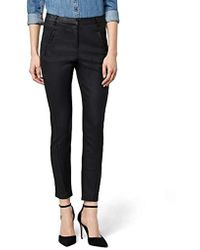 Vero Moda - 's Vmvictoria Nw Antifit Coated Trousers Noos Trouser - Lyst