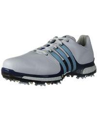 lyst adidas golf tour 360 erhöhen schuh in blau für männer