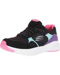 78d5d2cc88 Skechers Womens Meridian Women's Shoes (trainers) In Black in Black - Lyst