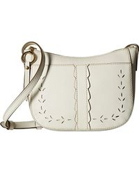 Frye - Ilana Perf Zip Crossbody Bag Oiled Veg - Lyst