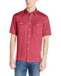 Pendleton - Short Sleeve Morrison Shirt - Lyst