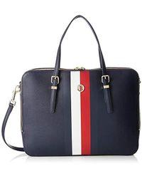 Tommy Hilfiger - Honey Computer Bag, 's Laptop Blue (corporate), 6x28x37 Cm (b X H T) - Lyst