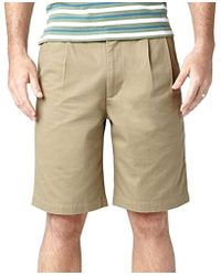 Dockers - Perfect D3 Classic-fit Pleated Short - Lyst