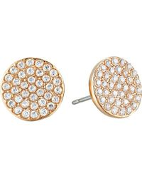 """Kate Spade - """"pave Studs"""" Shine On Earrings - Lyst"""