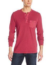Lucky Brand - Surfside Henley Shirt - Lyst