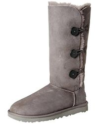 UGG - Bailey Button Triplet Ii Winter Boot - Lyst