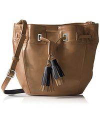 Nine West - Take A Lift Crossbody Bucket Bag - Lyst