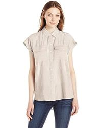 Jones New York - Yd Oversized Shirt - Lyst