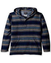 Pendleton - Serape Stripe Popover Hoody - Lyst