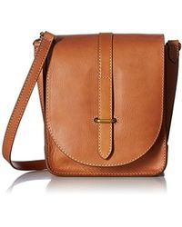 Frye - Ilana Crossbody Leather Messenger Bag - Lyst