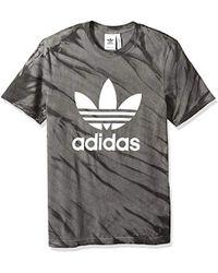 adidas Originals - Trefoil Tee Shirt - Lyst