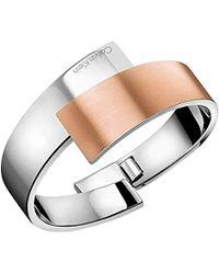 Calvin Klein - Femme Acier Bracelets multi-rangs - KJ2HPD28010M - Lyst