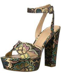 Guess - Powerr3 Heeled Sandal - Lyst