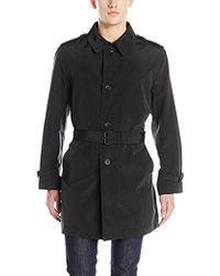Kenneth Cole - Rado Belted Trench Coat - Lyst