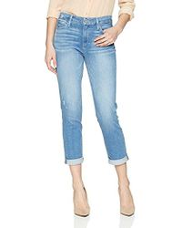 PAIGE - High Rise Jimmy Crop - Lyst