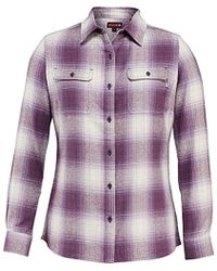 Wolverine - Aurora Two-sided Brushed Flannel Shirt - Lyst
