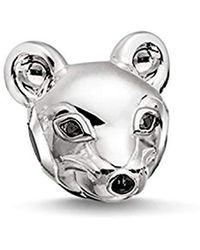 Thomas Sabo Damen Bead Charms Silber - Mettallic