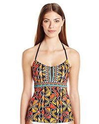Nanette Lepore - Mozambique African Print Honey Tankini - Lyst