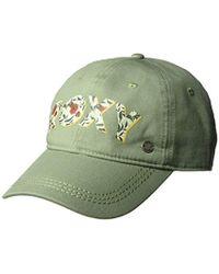 ff3194d93ff Roxy - Dear Believer Adjustable Hats - Lyst