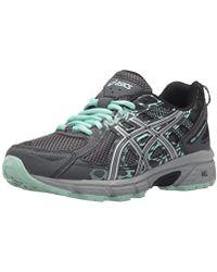 S Gel venture® 6 Shoes, 7 Uk, Castlerocksilverhoneydew