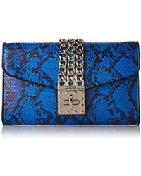 Guess Tulip Envelope Clutch Bag in Red - Lyst d8c1bcd46516e