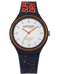 Superdry - Reloj Analógico para Adultos Unisex de Cuarzo con Correa en  Silicona SYG227U - Lyst aed47c9bd3e5