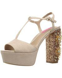 Betsey Johnson - Ferra Dress Sandal - Lyst