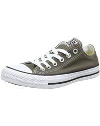 e05642912b1b Converse - Chuck Taylor All Star Canvas Low Top Sneaker - Lyst