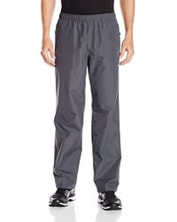 Asics - Waterproof Pant, Charcoal, Large - Lyst