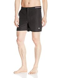 Fred Perry - Bomber Tape Swimshort - Lyst