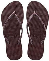 66764fc3ea0bbd Havaianas - Flip Flops Slim - Lyst
