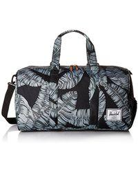38018240776a Lyst - Herschel Supply Co. Black Novel Duffle Bag in Black for Men