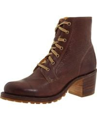 Frye - Sabrina 6g Lace-up Boot - Lyst