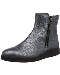 bd7412a49eb7 Ecco Bella Wedge Ankle Boots in Purple - Lyst